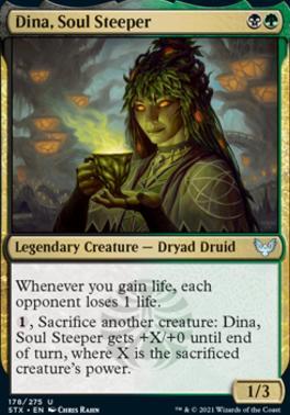 Strixhaven: School of Mages Foil: Dina, Soul Steeper