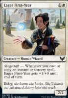 Strixhaven: School of Mages Foil: Eager First-Year