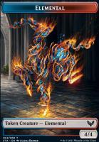 Strixhaven: School of Mages: Elemental Token