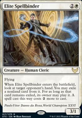 Strixhaven: School of Mages: Elite Spellbinder