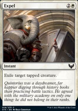 Strixhaven: School of Mages: Expel
