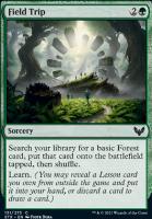 Strixhaven: School of Mages Foil: Field Trip