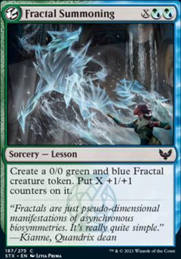 Strixhaven: School of Mages: Fractal Summoning