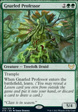 Strixhaven: School of Mages: Gnarled Professor