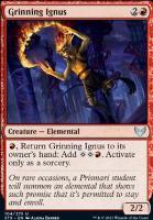Strixhaven: School of Mages Foil: Grinning Ignus