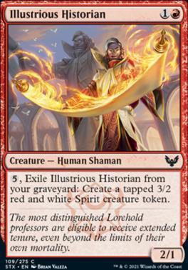 Strixhaven: School of Mages: Illustrious Historian