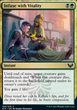 Strixhaven: School of Mages Foil: Infuse with Vitality