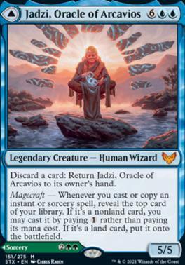 Strixhaven: School of Mages: Jadzi, Oracle of Arcavios