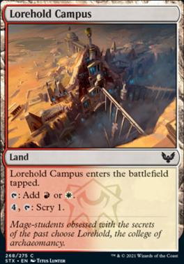 Strixhaven: School of Mages Foil: Lorehold Campus