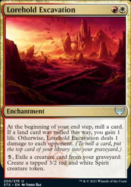 Strixhaven: School of Mages: Lorehold Excavation
