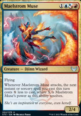 Strixhaven: School of Mages Foil: Maelstrom Muse