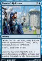 Strixhaven: School of Mages Foil: Mentor's Guidance