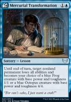 Strixhaven: School of Mages: Mercurial Transformation