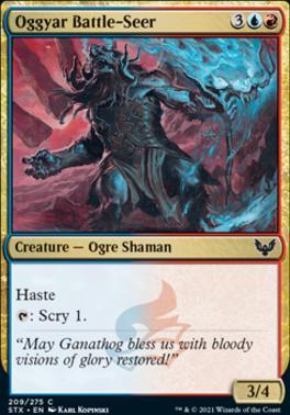 Strixhaven: School of Mages Foil: Oggyar Battle-Seer