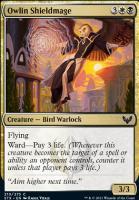 Strixhaven: School of Mages: Owlin Shieldmage
