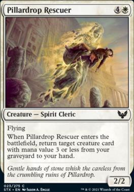 Strixhaven: School of Mages: Pillardrop Rescuer