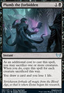 Strixhaven: School of Mages: Plumb the Forbidden