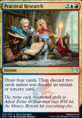 Strixhaven: School of Mages Foil: Practical Research