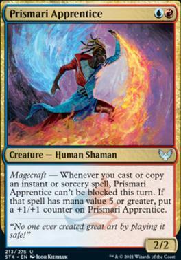Strixhaven: School of Mages: Prismari Apprentice