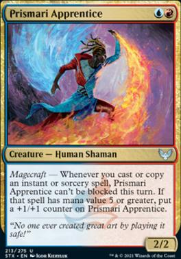 Strixhaven: School of Mages Foil: Prismari Apprentice