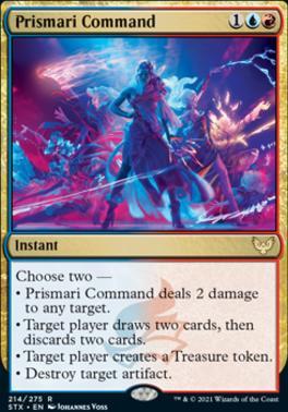 Strixhaven: School of Mages: Prismari Command