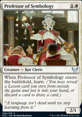 Strixhaven: School of Mages: Professor of Symbology