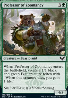 Strixhaven: School of Mages: Professor of Zoomancy