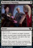 Strixhaven: School of Mages: Professor's Warning