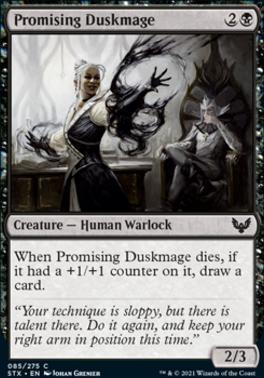 Strixhaven: School of Mages: Promising Duskmage