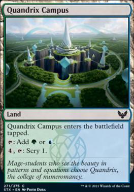 Strixhaven: School of Mages Foil: Quandrix Campus