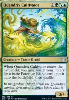 Strixhaven: School of Mages: Quandrix Cultivator