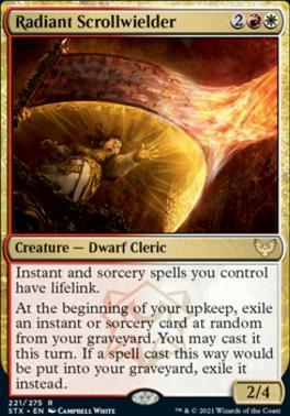 Strixhaven: School of Mages: Radiant Scrollwielder