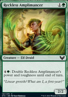 Strixhaven: School of Mages: Reckless Amplimancer