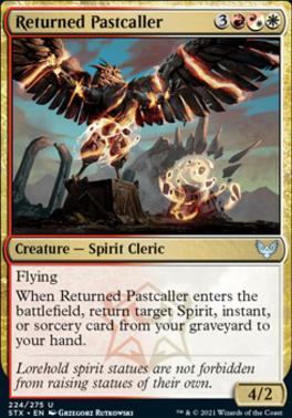 Strixhaven: School of Mages Foil: Returned Pastcaller