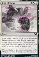 Strixhaven: School of Mages Foil: Rise of Extus