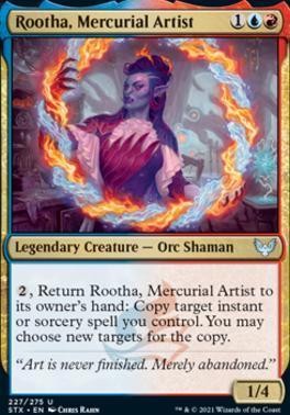 Strixhaven: School of Mages Foil: Rootha, Mercurial Artist