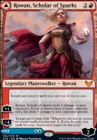 Strixhaven: School of Mages: Rowan, Scholar of Sparks