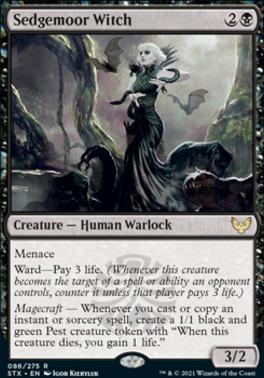 Strixhaven: School of Mages Foil: Sedgemoor Witch