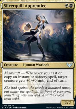 Strixhaven: School of Mages Foil: Silverquill Apprentice