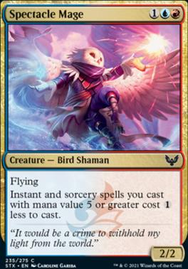 Strixhaven: School of Mages Foil: Spectacle Mage