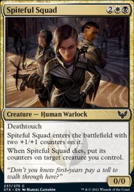 Strixhaven: School of Mages: Spiteful Squad