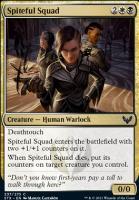 Strixhaven: School of Mages Foil: Spiteful Squad