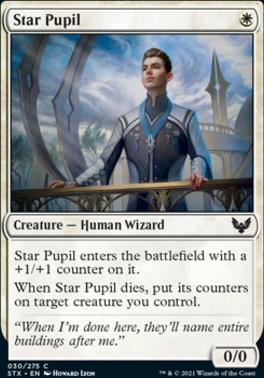 Strixhaven: School of Mages Foil: Star Pupil