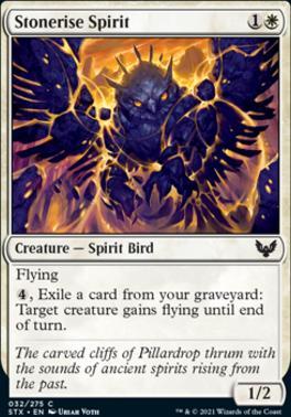 Strixhaven: School of Mages: Stonerise Spirit