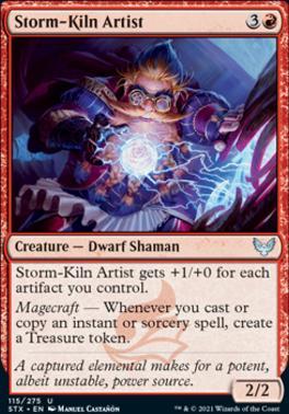 Strixhaven: School of Mages: Storm-Kiln Artist