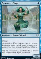 Strixhaven: School of Mages Foil: Symmetry Sage
