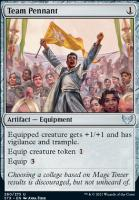 Strixhaven: School of Mages Foil: Team Pennant
