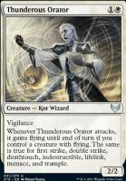 Strixhaven: School of Mages: Thunderous Orator