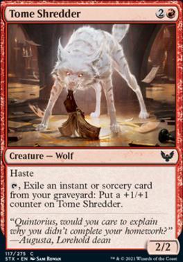 Strixhaven: School of Mages: Tome Shredder