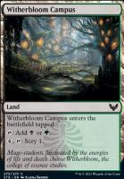 Strixhaven: School of Mages Foil: Witherbloom Campus